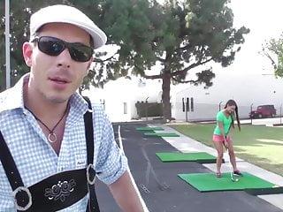 Three crosses teen Magma film golfing abby cross