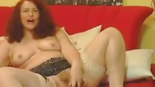 Thick Mature Whore With A Toy