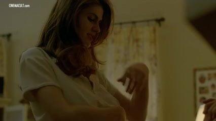 Alexandra Daddario Topless True Detective