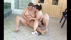 Hot big tits bbw lesbians