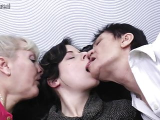 Mature fucked by daughter - Daughter gets fucked by two grandmothers