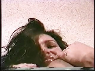 Fetish big cock Hot brunette with massive tits sucks on big cock on her knees