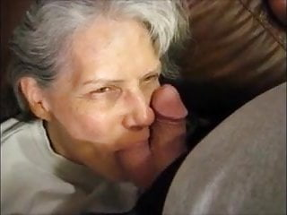 Suck balls gay - White hair granny suck balls dick and get cum in mouth