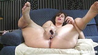 PAWG Virgo Peridot in Sexy Spread (HD)