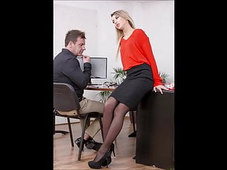 Milf secretary pics Gallery pics katrin tequila secretary black nylon sex office