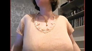 Webcam Woman in tights and bra
