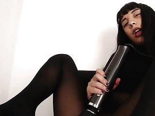 Black pantyhose pussy - Very good asian girl in black pantyhose :-p