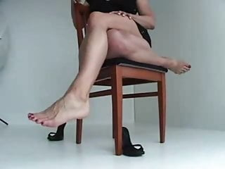 Muscular legs big tits Rose muscular legs and large veiny feet