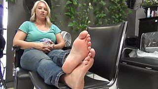 BARE FOOT & Foot Model amateur