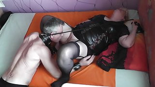 1. May - Rain... My Slave serve indoor and lick me! Part 2