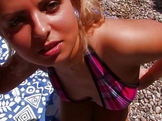 Tropical teen models - Fucking a teen in a tropical paradise