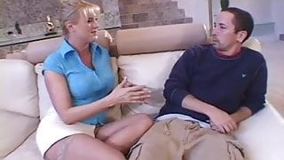 Loud Dirty Talking Step Mom Needs Young Cock