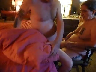 Forced his thick penis - Forcing my husband to cum. dildo finger fucking his ass