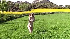 Outdoor nude walk 10