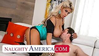 Naughty America, Bridgette B. is a lonely, kinky housewife