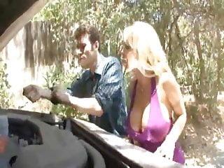 Big cock erect hard huge shemale Blonde rammed hard huge tits boobs