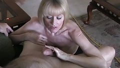 The Sexy Granny Uses Oral Skills For Cumshot