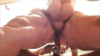 Ssbbw 56yo BBW GILF Wife With Wide Hips Has Anal Sex, Amber Connors