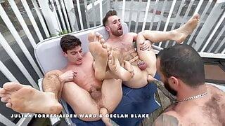 RFC- Julian Torres, Aiden Ward and Declan Blake