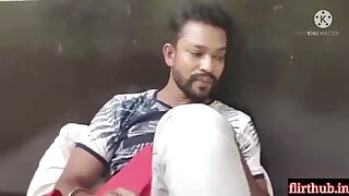 Indian sexy Nokrani fucked by young boy