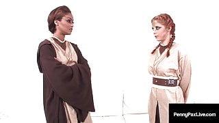 Pussy Juiced Jedi's, Penny Pax & Skin Diamond Force Fuck!