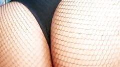 Maelle twerking - French Alt Amateur Ebony Teen