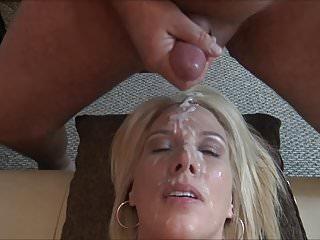 Close up porn video Cum facial
