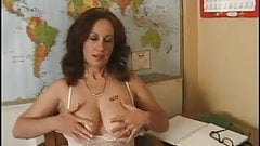 Delena Dawn 2 - masturbating teacher