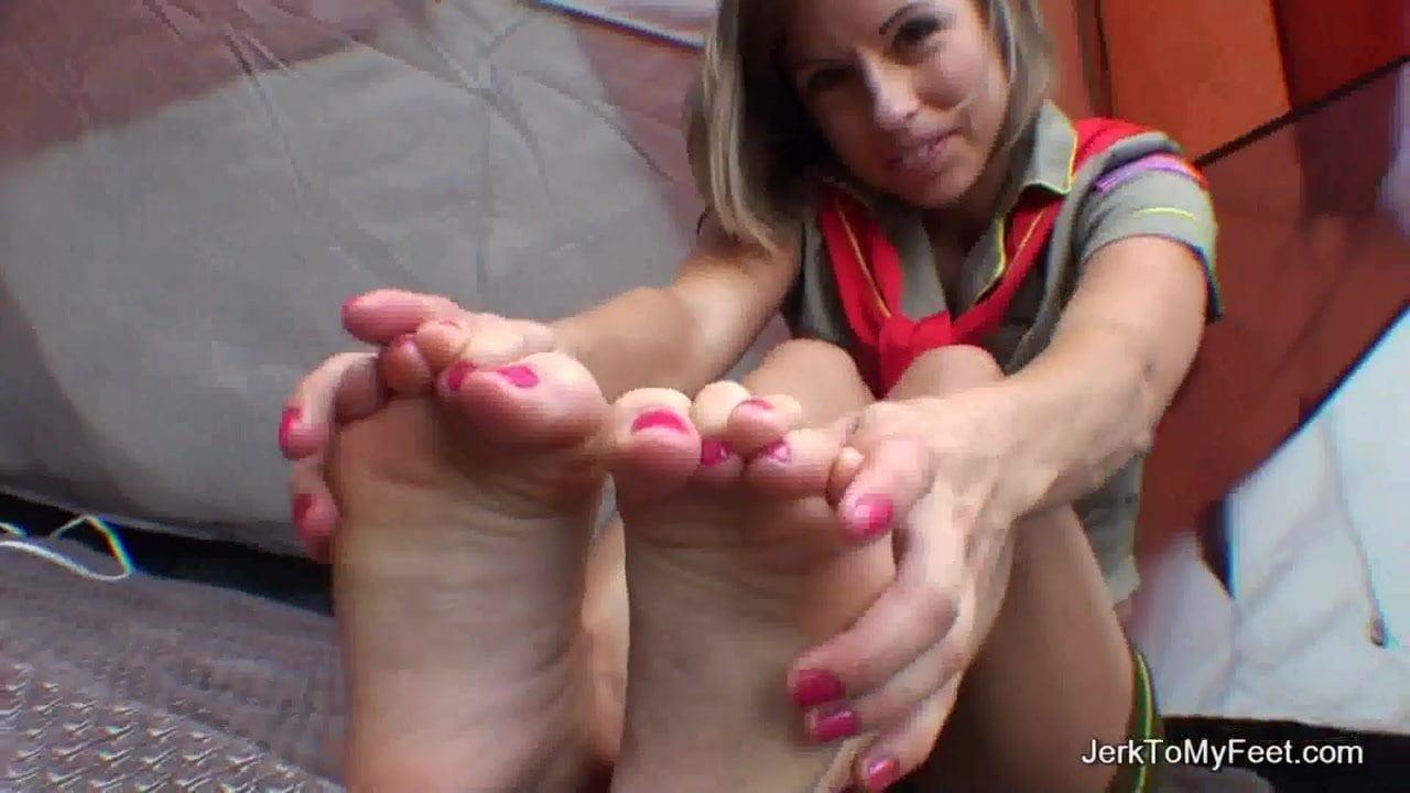 Teen Girl Self Foot Worship
