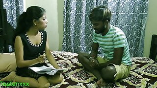 Indian sexy Madam has spontaneous sex with student: Uncut webseries