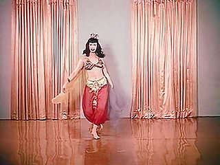 Over 50 s xxx - Little egypt - vintage 50s burlesque