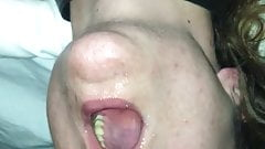 Throat fucking 23 year old on first date