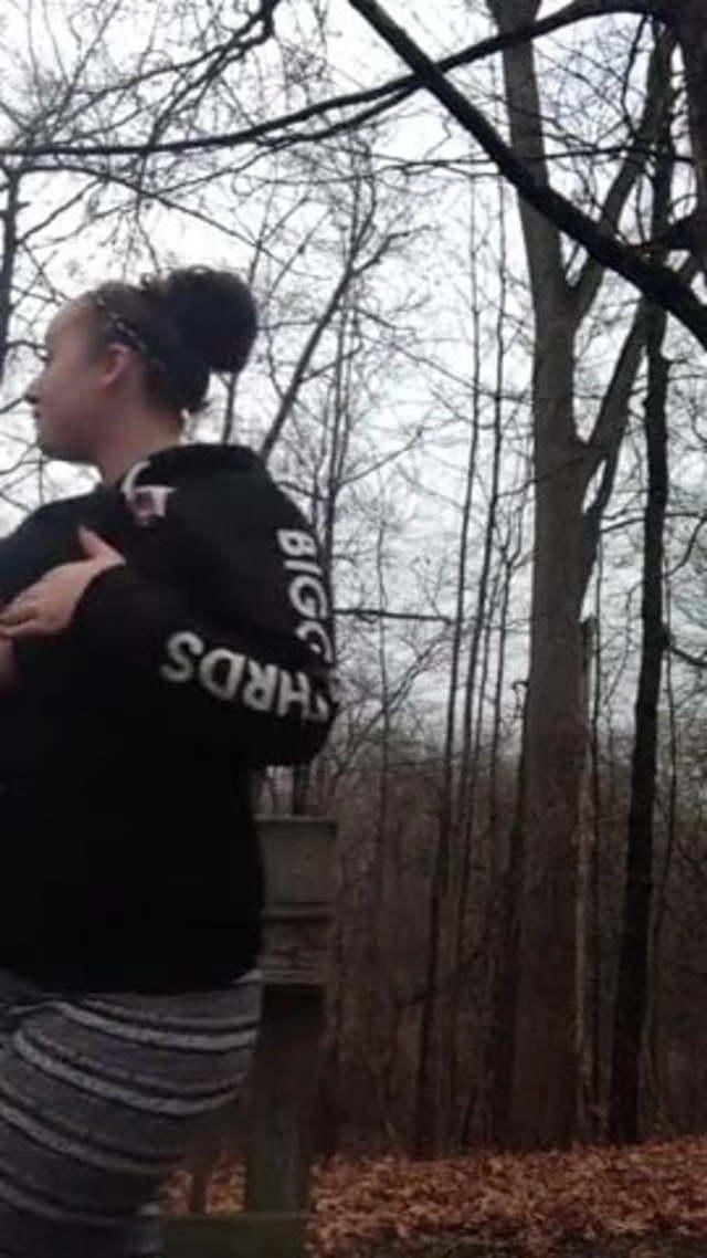 Two Teens Blowjob Public