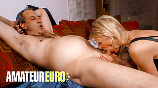 AMATEUREURO - Old German Granny Satisfies Her Kinky Lover
