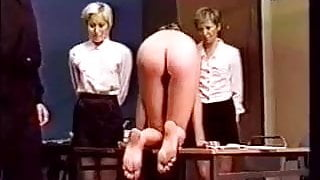 spanking  girls and bastinado