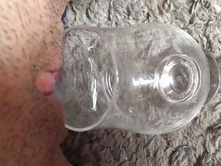 Glas bottom boat In das glas gepisst
