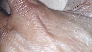 Wet pussy sex closeup with pussy sound