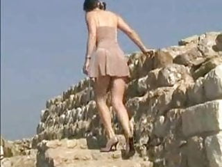 Jlh breast site - Flashing at a historic site by the gardalake