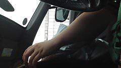 JPN Amateur In the car blowjob
