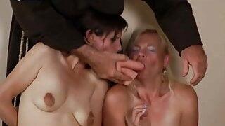 Blonde girl who loves spanking 07