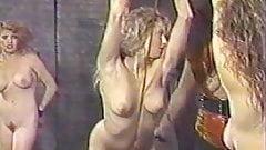 Vintage Lesbian torture whipping bondage KOLI