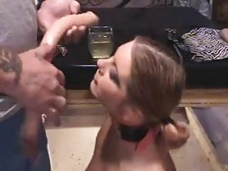 Suck slaves - Slut slave is taught to suck cock