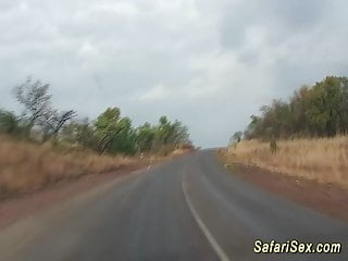 Ghot hot sex - Hot sex at my african safari trip