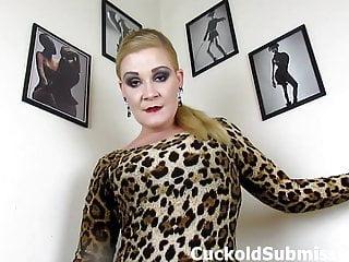 Cum guzzling redheads Whitney morgan makes you her cum guzzling cuckold