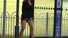 Crafty Bus Stop Pee