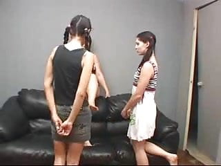 Feet matures Chubby mature has her feet worshipped by two teens