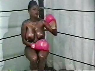 Naked sports men nude - Retro interracial naked boxing
