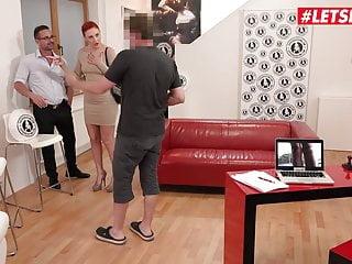 Young russian models porn Letsdoeit - shy russian model eva berger first porn casting