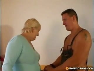 Fat and mature gay videos - This granny is fat and horny