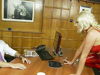 Latex corset punishment tight tale story diary journal experience Sexy michelle in red latex corset has geek lick her pussy